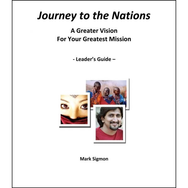 cover page Journey to the Nations Leader's Guide